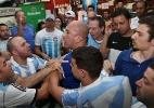Gol da Alemanha provoca confusão em bar de SP; segurança atira para o alto - Rivaldo Gomes/Folhapress