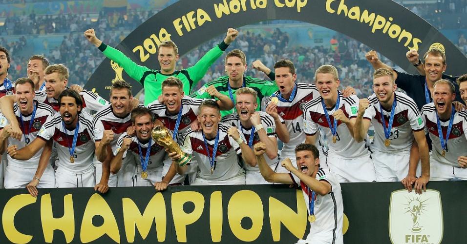 Alemanha: campeã mundial de 2014