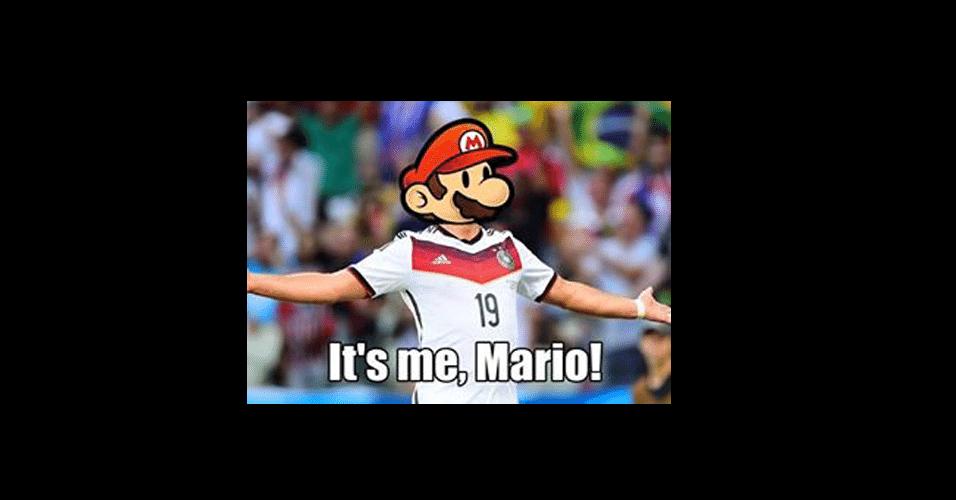 Apareceu um certo Mario na Alemanha