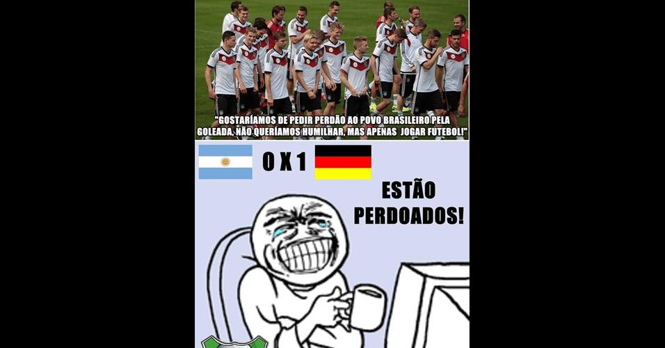 Brasileiros já perdoaram a Alemanha pela goleada