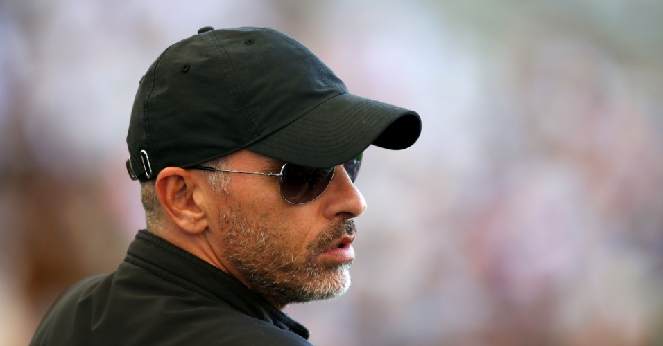 Cantor italiano Eros Ramazzotti está no Maracanã vendo a final da Copa do Mundo