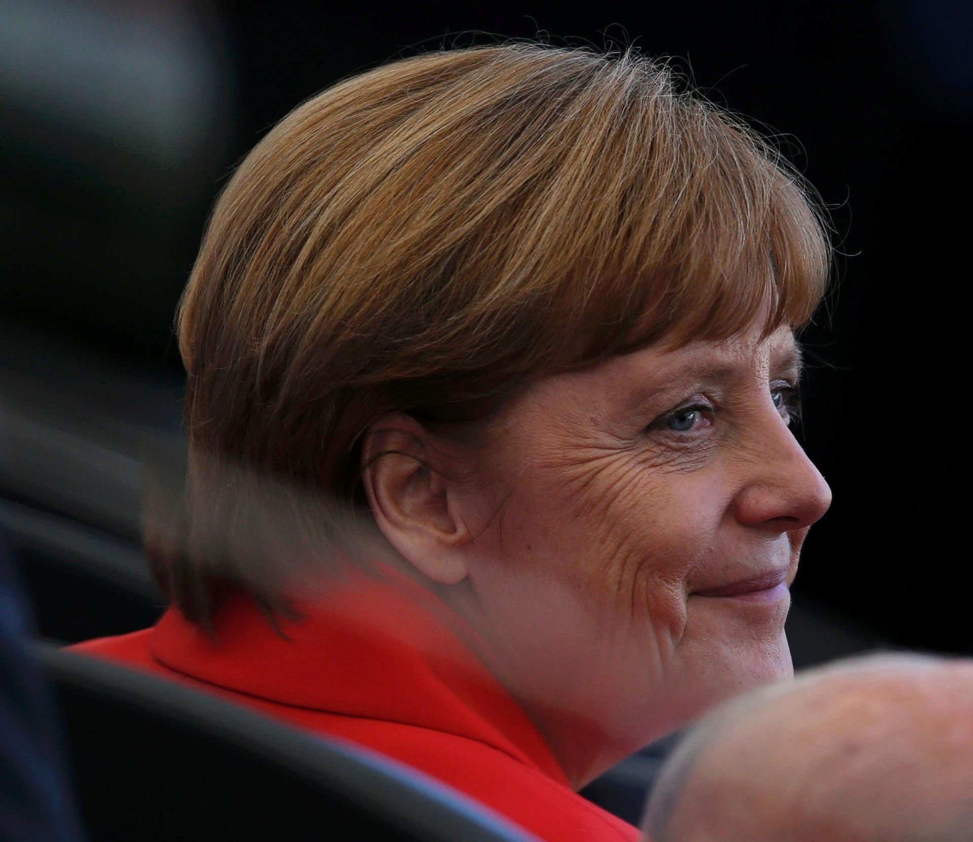 Chanceler Angela Merkel está no Maracanã para a final da Copa do Mundo