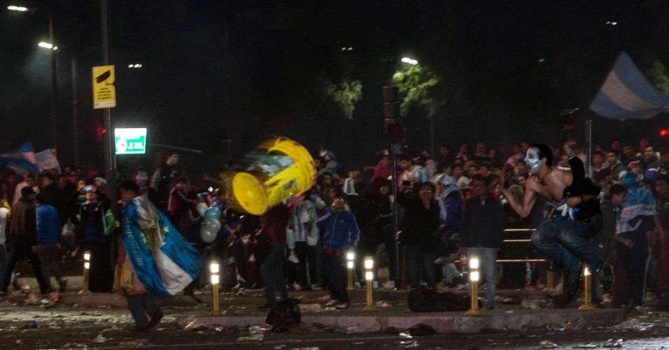 Confusão toma conta da região central de Buenos Aires após derrota para a Alemanha na final da Copa do Mundo
