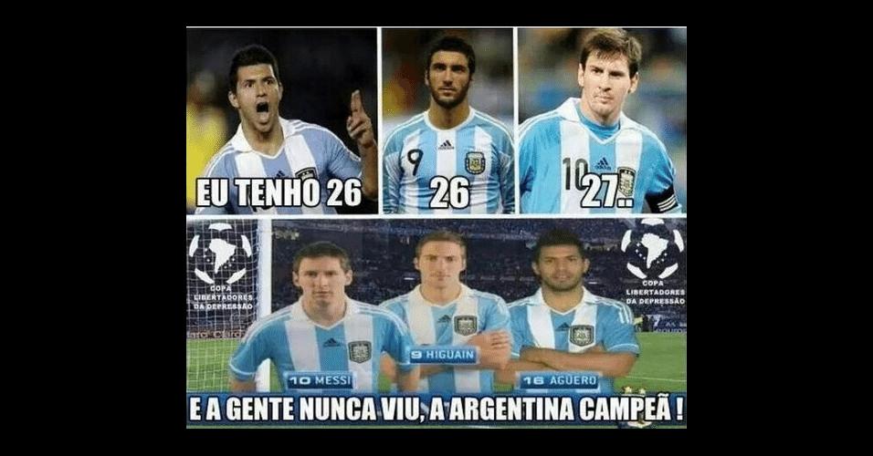 Eles não viram a Argentina ser campeã