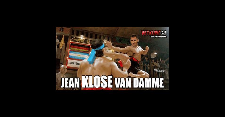 Klose ganhou memes