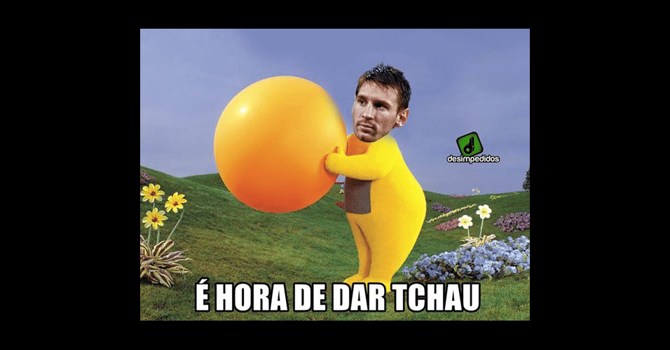 Messi deu tchau para o sonho da Copa