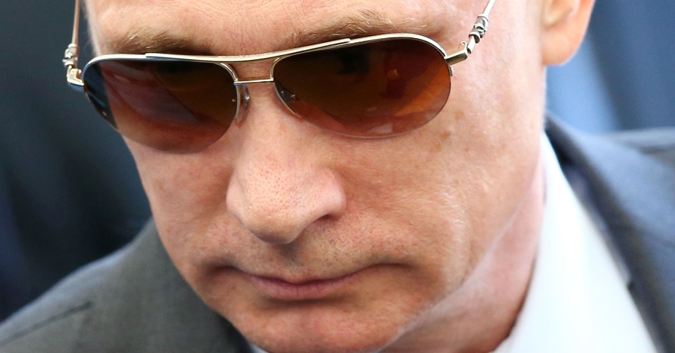 Presidente russo Vladimir Putin está no Maracanã para acompanhar a final da Copa do Mundo