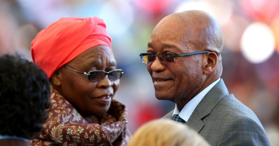 Presidente Sul-africano Jacob Zuma está no Maracanã para assistir à final da Copa do Mundo