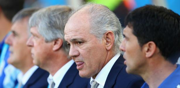 Alejandro Sabella treinou a seleção argentina na Copa do Mundo de 2014 - Julian Finney/Getty Images