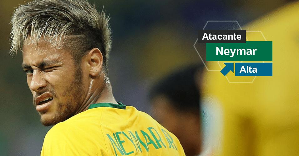 Neymar - Um oásis na seleção. Chegou sob dúvidas, mas carregou o time nas costas na primeira fase e chegou a ser artilheiro do torneio. Não participou do vexame por um drama pessoal, que o humanizou diante do público. Tem tudo para ser estrela do time aos 26, em 2018.