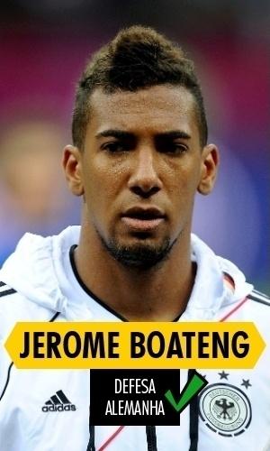 Boateng - O zagueiro alemão não teve atuações acima da média pelos campeões do mundo, mas não comprometeu e foi titular durante todo o Mundial