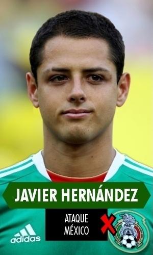 Chicharito Hernandéz - Repetiu no México sua má fase do Manchester United e acabou sendo reserva do experiente Peralta, de 30 anos. Chicharito tem 26