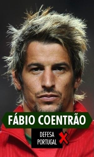 Coentrão - O lateral esquerdo português se contundiu logo na estreia, contra a Alemanha, e não mais atuou na Copa. Nos minutos que esteve em campo, porém, mostrou pouco futebol.