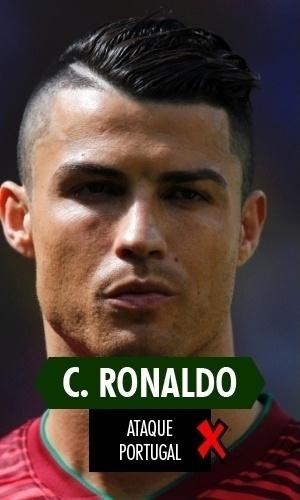 Cristiano Ronaldo - Logo no ano em que voltou a ser eleito o melhor do mundo, teve Copa ridícula. Não só pela eliminação de Portugal na primeira fase, mas por que não passou nem perto de ter uma atuação média que fosse; claro, ter jogado após sofrer contusão colaborou nisso