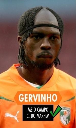 Gervinho - O atacante é ciscador, finaliza mal e fominha, mas foi titular absoluto da Costa do Marfim, algo que nem Didier Drogba conseguiu ser na Copa