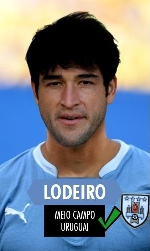 Lodero - O meia uruguaio, banco em 2010, foi titular neste ano e com atuações boas. Os corintianos podem se empolgar com seu novo jogador