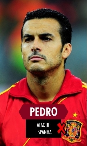 Pedro - Mais um espanhol que teve atuações condizentes com a campanha da Espanha na Copa: tenebrosas