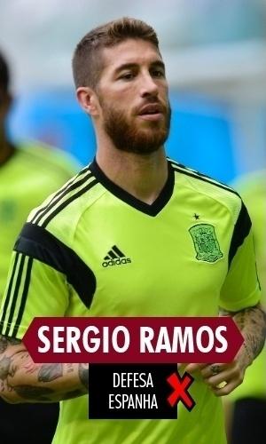 Sérgio Ramos - O lateral chegou a Copa dias depois de marcar gol salvador para o Real Madrid na final da Liga dos Campeões. Porém, no Mundial, afundou junto com toda a Espanha, com atuações fracas e sete gols tomados nos dois primeiros jogos
