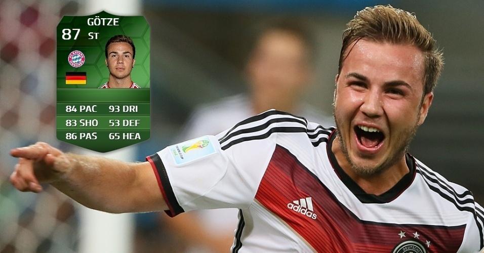 Alemanha 1 x 0 Argentina: Gotze (85 para 87)