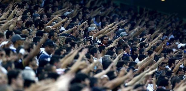 326122e58876f Torcida do Corinthians é maior do que as de rivais juntos no estado de SP
