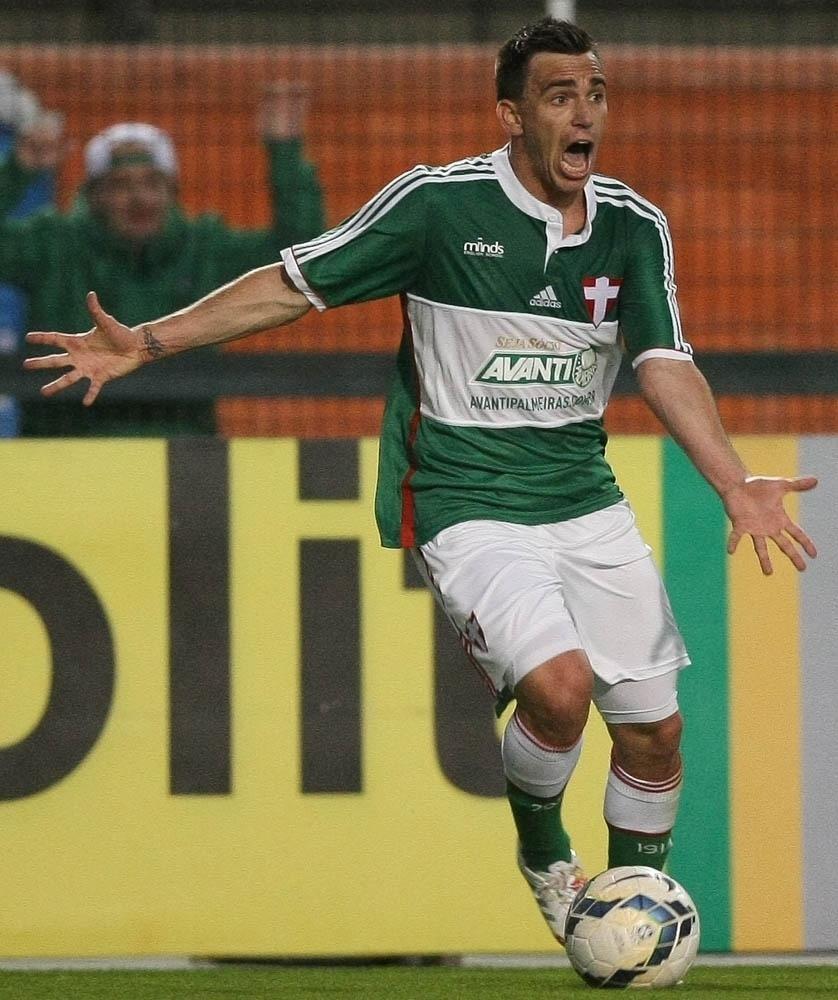 Pablo Mouche fez a sua estreia com a camisa do Palmeiras