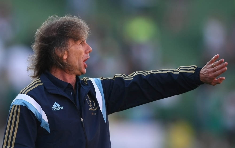 Ricardo Gareca comandou o Palmeiras pela primeira vez como mandante