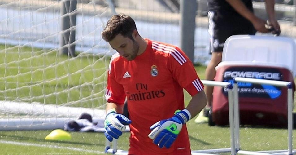Goleiro Jesús Fernández, do Real Madrid