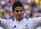 45 mil pessoas comparecem à apresentação de James Rodríguez no Real Madrid - Pierre-Philippe Marcou/AFP Photo