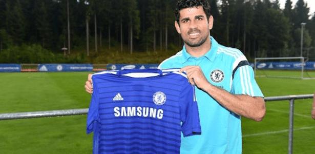 Diego Costa elogia o novo chefe no Chelsea