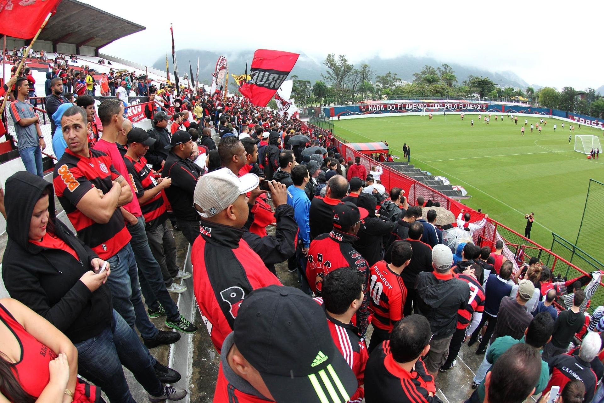 25f74b36fc Fla põe estádio da Gávea em  stand-by  e prevê Arena Multiuso só em 2019 -  05 10 2017 - UOL Esporte