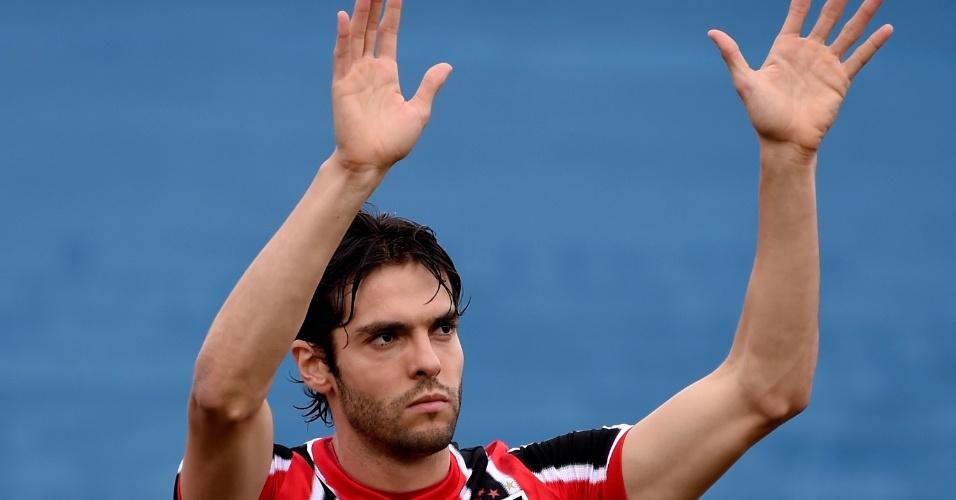Kaká voltou a jogar pelo São Paulo depois 11 anos