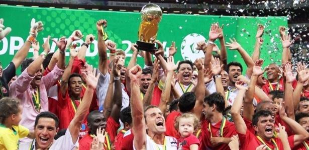 Brasília ganhou a Copa Verde em 2014, mas a perdeu no tribunal; cabe recurso - Divulgação
