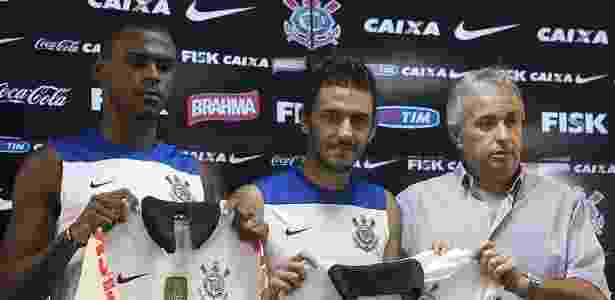 Wanderson (esq.) já chegou a defender o Corinthians - Daniel Augusto Jr./Ag. Corinthians