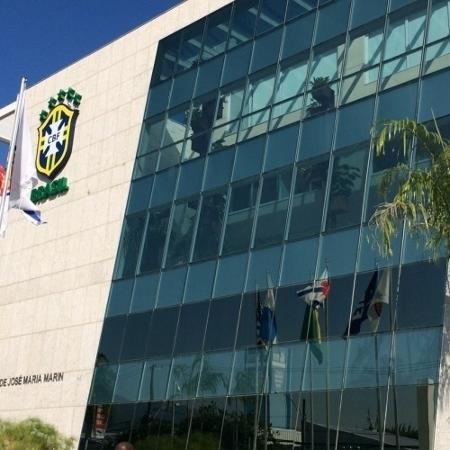 Fachada da nova sede da CBF, que abriga o museu da seleção brasileira - Pedro Ivo Almeida/UOL