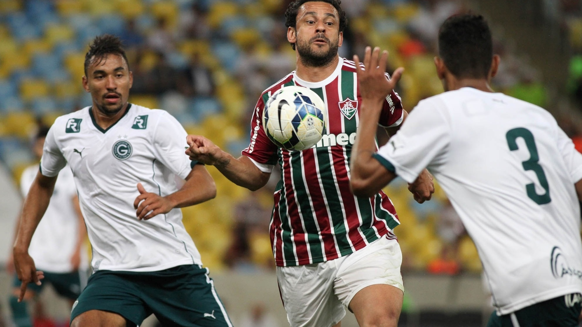 Contra o Goiás, Fred faz seu primeiro jogo depois da Copa do Mundo