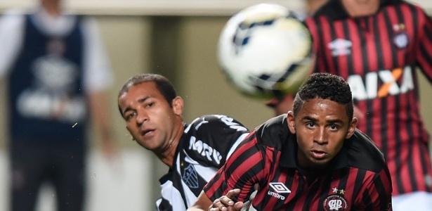 Pierre pelo Atlético-MG, contra o Atlético: troca de xarás