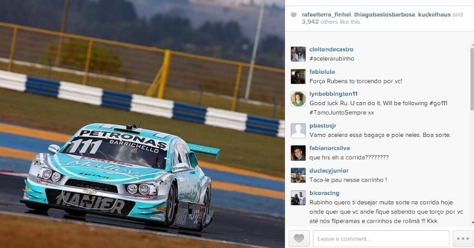 Rubens Barrichello venceu a Corrida do Milhão, em Goiânia