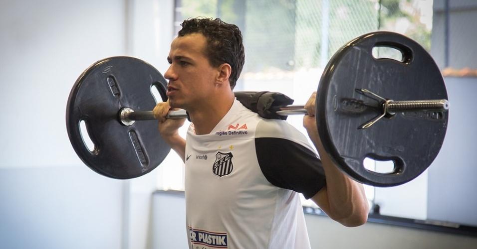 Damião será o substituto de Gabigol, convocado, no clássico contra o Corinthians