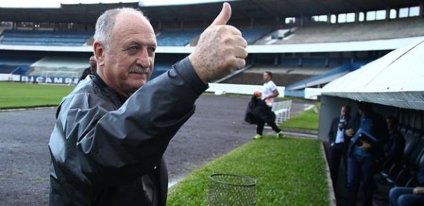 Luiz Felipe Scolari não quero novos jogadores e pretende valorizar a base
