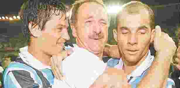 Grêmio de Felipão jogou duas vezes em Guayaquil na campanha do bicampeonato, em 1995 - cyr Lopes Junior/Folhapress