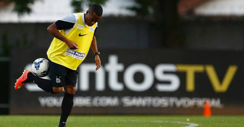 Para Oswaldo de Oliveira, Robinho dividirá a responsabilidade com Leandro Damião