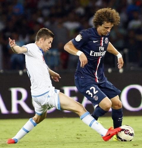 David Luiz estreia no PSG contra o Napoli em amistoso