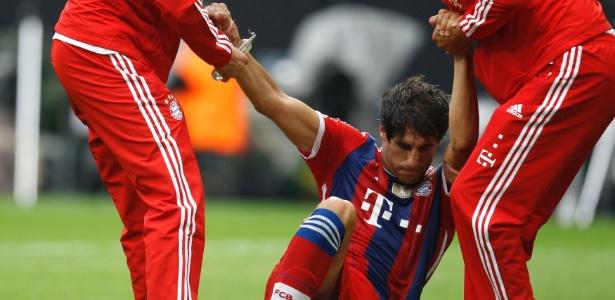 Javi Martínez volta a ser desfalque no Bayern de Munique