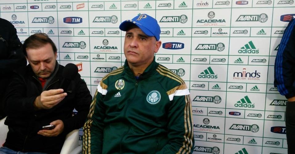 Marcos pede calma com Palmeiras e acha cedo para falar em rebaixamento