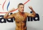 Hairton Campos, lutador de boxe aos 52 anos - Arquivo Pessoal