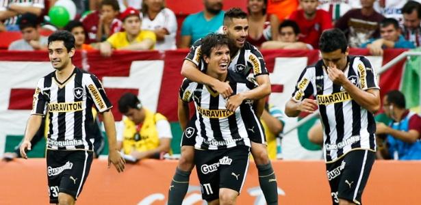 a20eb5ab7a Jogadores do Botafogo estão embalados pela vitória sobre o rival Fluminense
