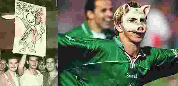 5a458b885d O periquito perdeu força como mascote oficial do Palmeiras para o porco