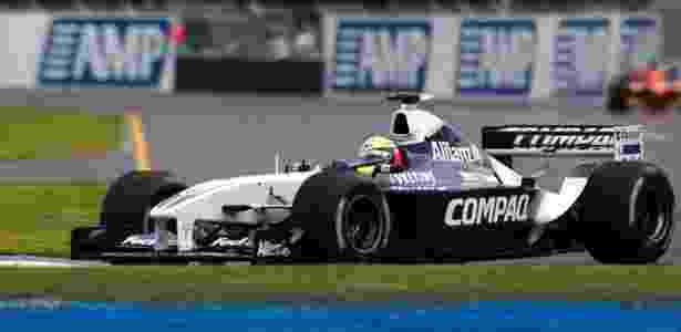 Williams de 2002 - Divulgação - Divulgação