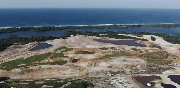 Campo de Golfe da Rio-2016 fica em área de preservação ambiental do Rio