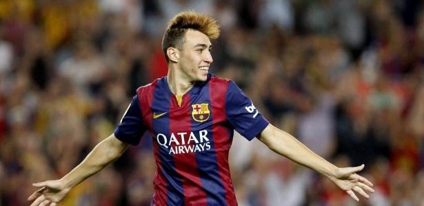 Munir renovou contrato com o Barcelona até 2019